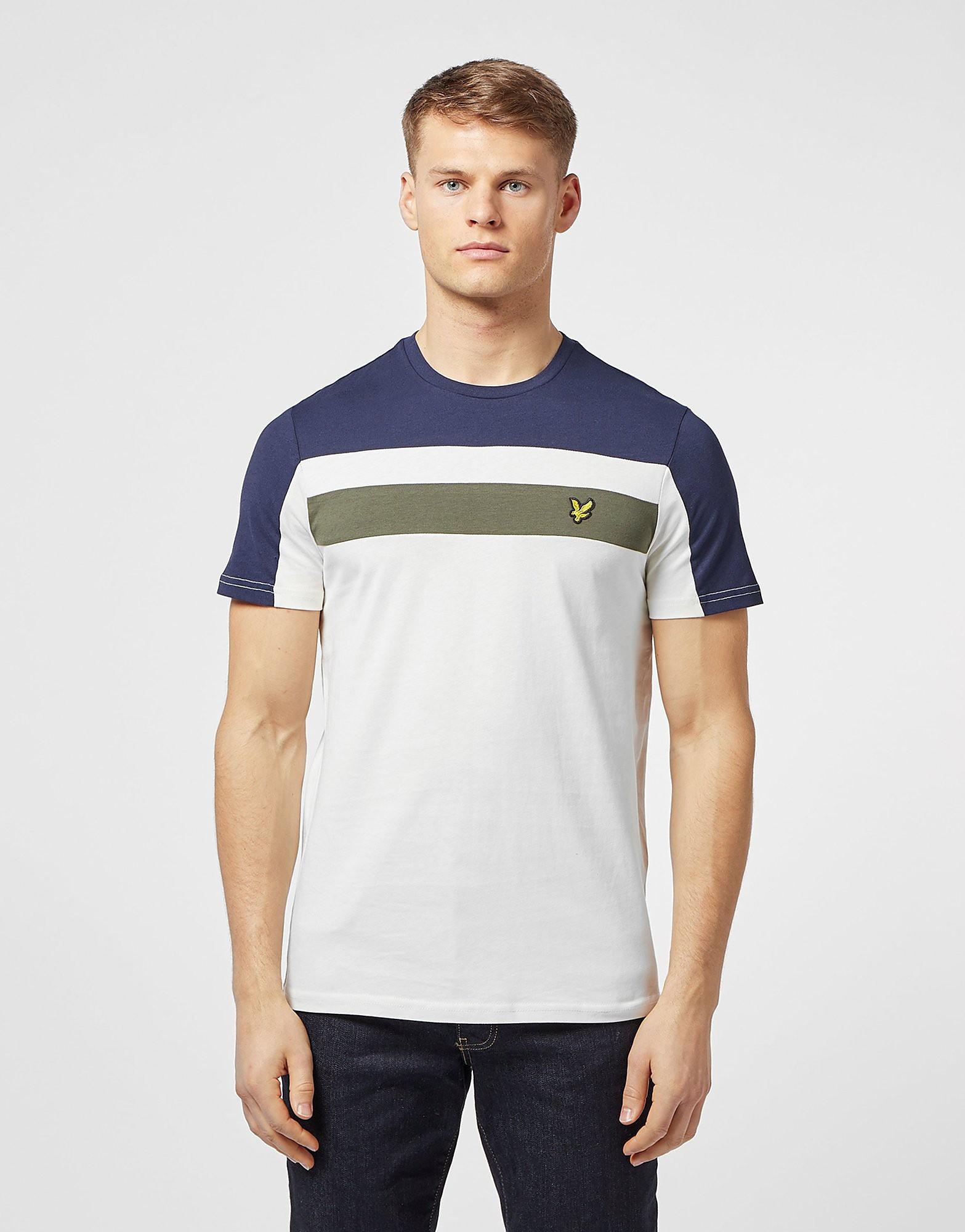 Lyle & Scott Short Sleeve Colour Block T-Shirt