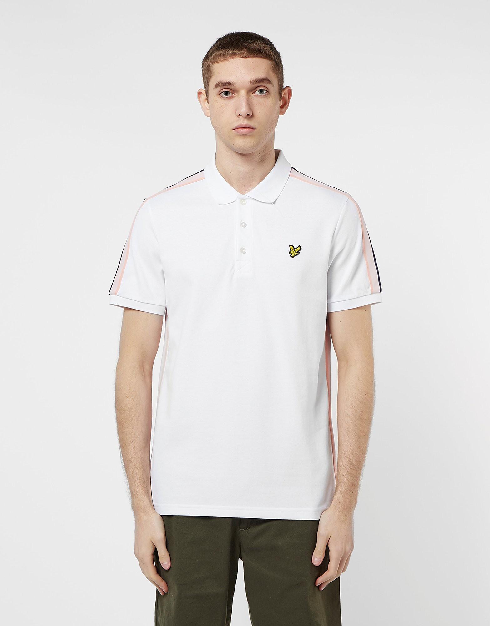 Lyle & Scott Short Sleeve Tape Polo Shirt