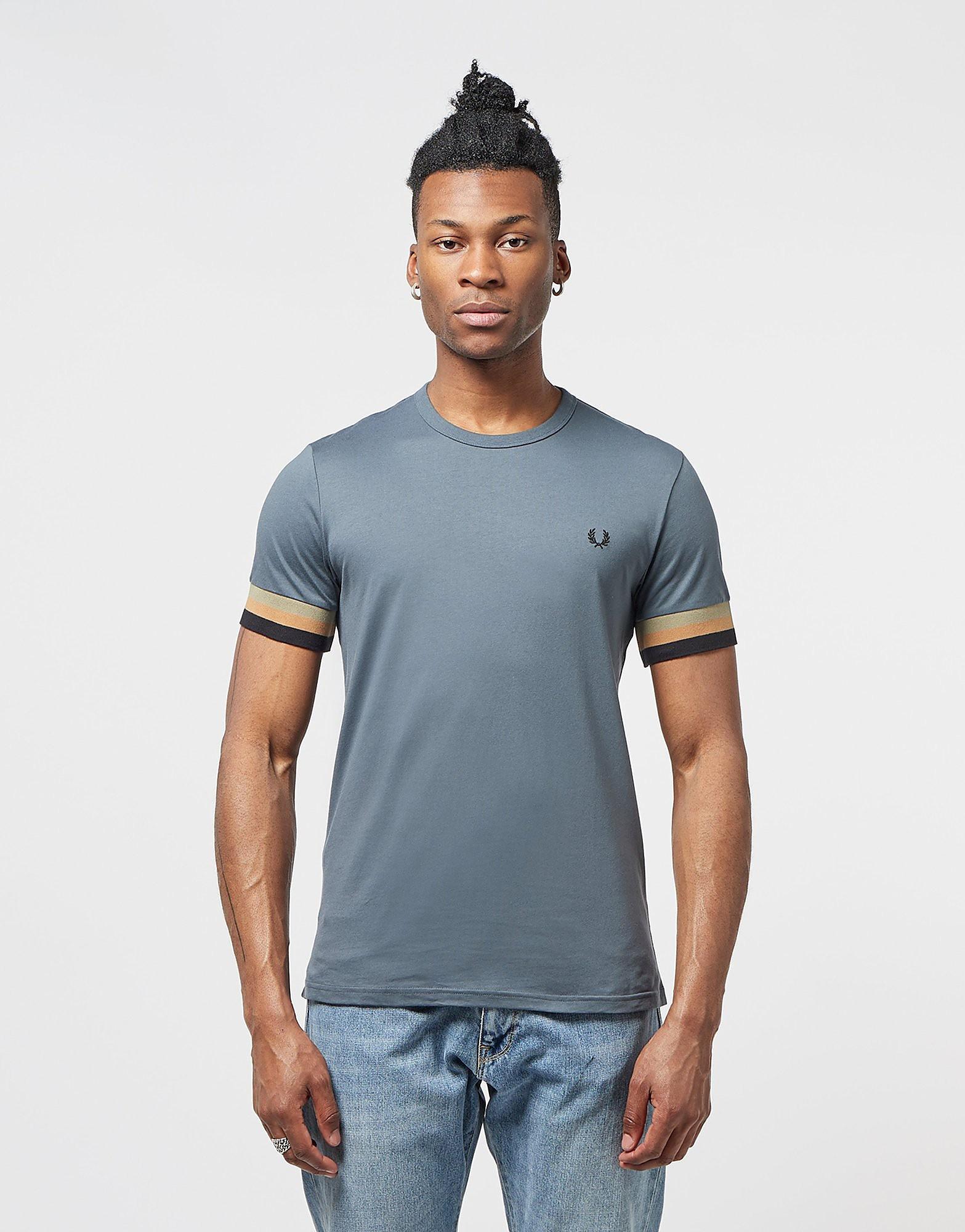 Fred Perry Deep Cuff Short Sleeve T-Shirt