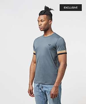68d727578b57 ... Fred Perry Deep Cuff Short Sleeve T-Shirt