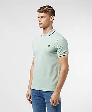 0cfd48786ba4f ... Fred Perry Twin Tipped Short Sleeve Polo Shirt