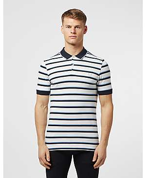 3258b25940e Fred Perry Stripe Pique Short Sleeve Polo Shirt ...