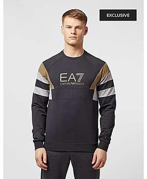 a29347eea175b Emporio Armani EA7 Retro Panelled Sweatshirt - Exclusive ...