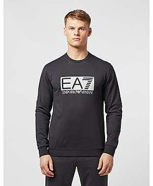 Emporio Armani EA7 Visibility Reflective Logo Sweatshirt ... c5207c6fd9b
