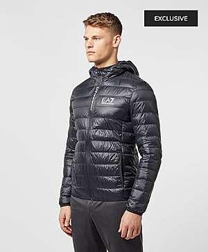 ... Emporio Armani EA7 Branded Zip Bubble Jacket f925eb56070