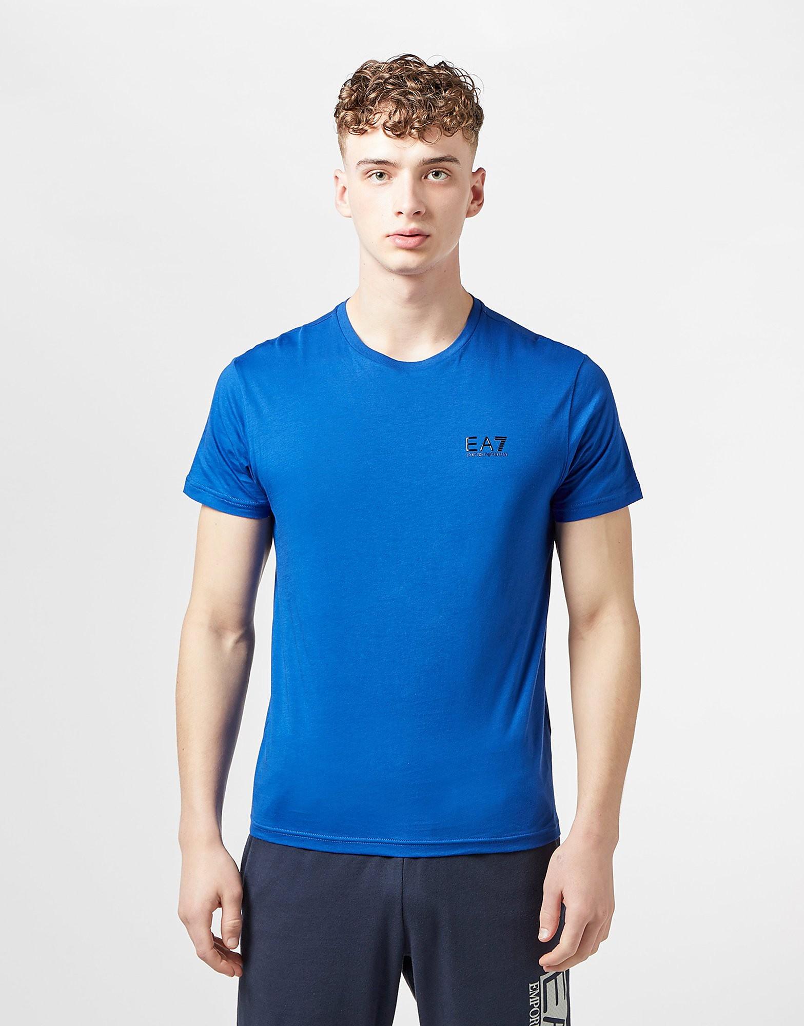 cdd4514aab3ef Emporio Armani EA7 Core Short Sleeve T-Shirt - Blue, Blue - £40.00 -  Bullring & Grand Central
