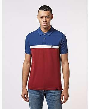 96edc78cf6 Pretty Green Short Sleeve Colour Block Polo Shirt ...