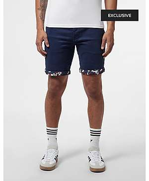 232753a02 Pretty Green Turn Up Chino Shorts - Exclusive ...