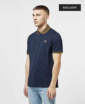 42b7b8a1d44 ... Paul and Shark Contrast Short Sleeve Polo Shirt - Exclusive