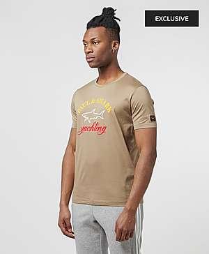 fa55fd289d3 ... Paul and Shark Core Logo Short Sleeve T-Shirt