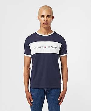 f9161128ca2fc Tommy Hilfiger Logo Block Short Sleeve T-Shirt ...
