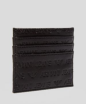 Armani Jeans All Over Branded Card Holder