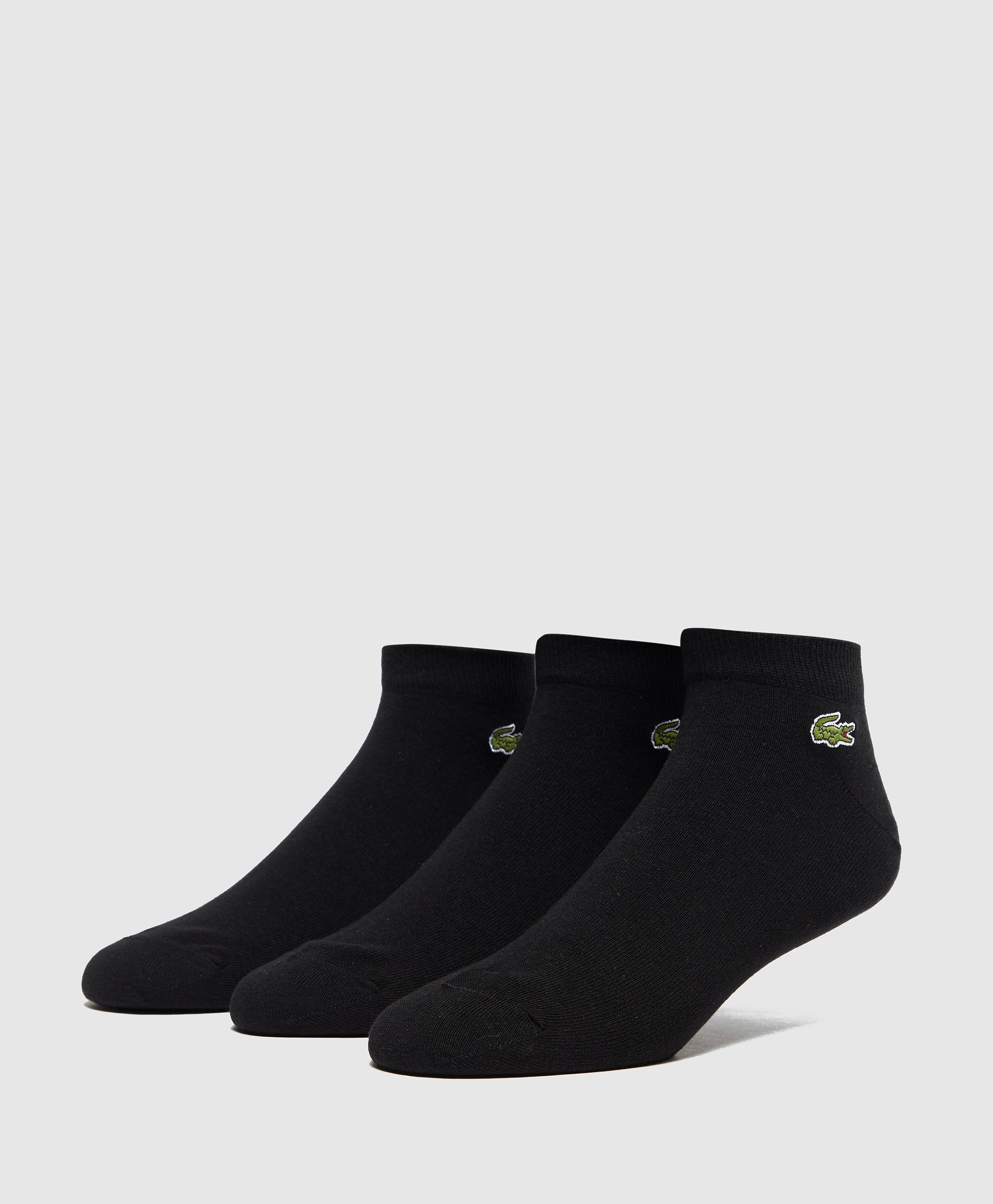Lacoste 3 Pack Ankle Socks