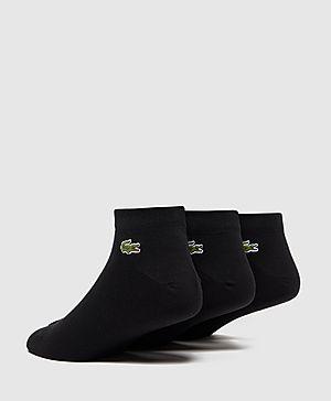Lacoste 3 Pack Ankle Socks