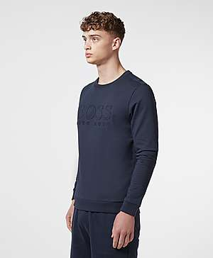 cc21015789d73 BOSS Embossed Crew Sweatshirt BOSS Embossed Crew Sweatshirt