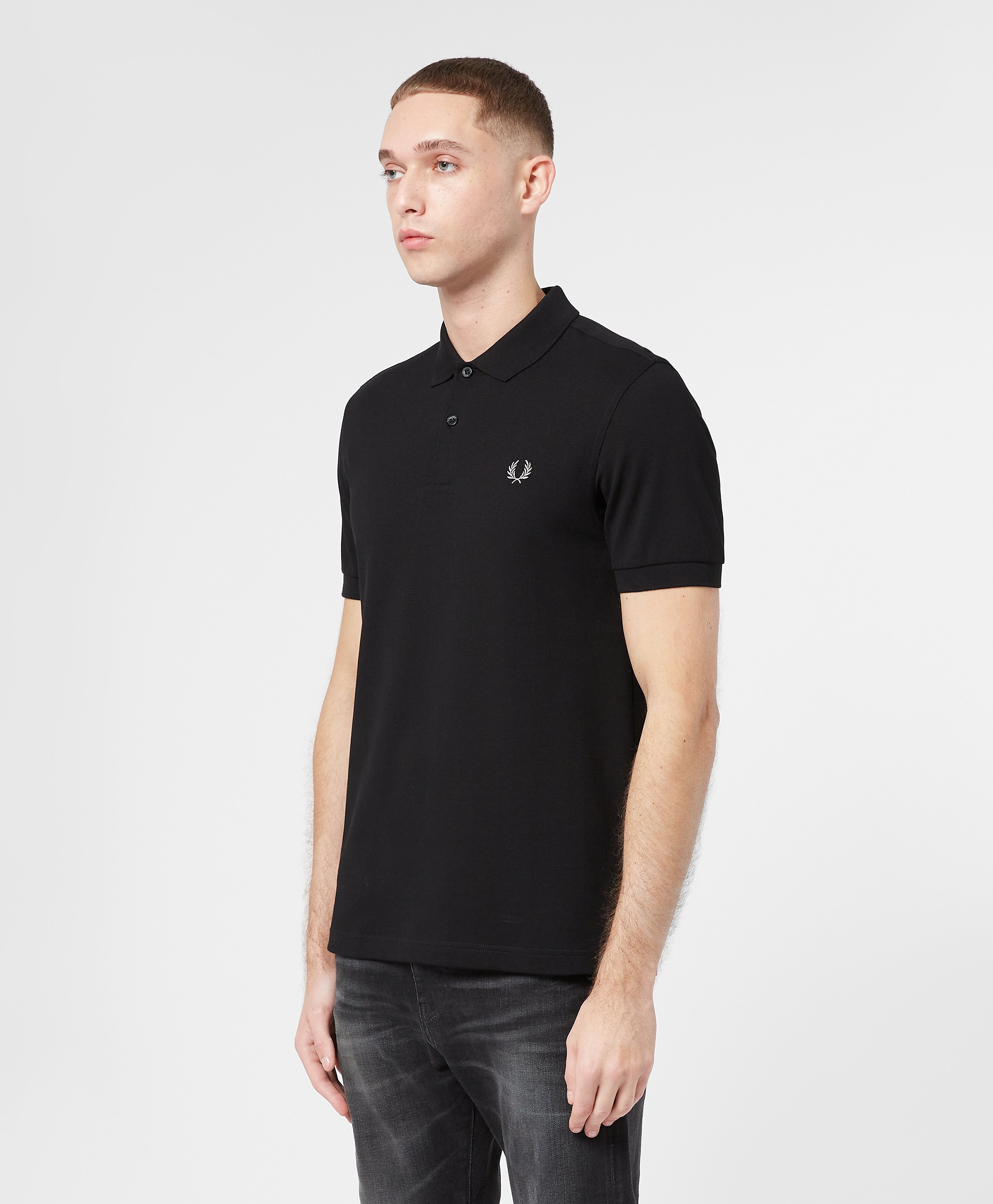 Fred Perry Plain Short Sleeve Polo Shirt