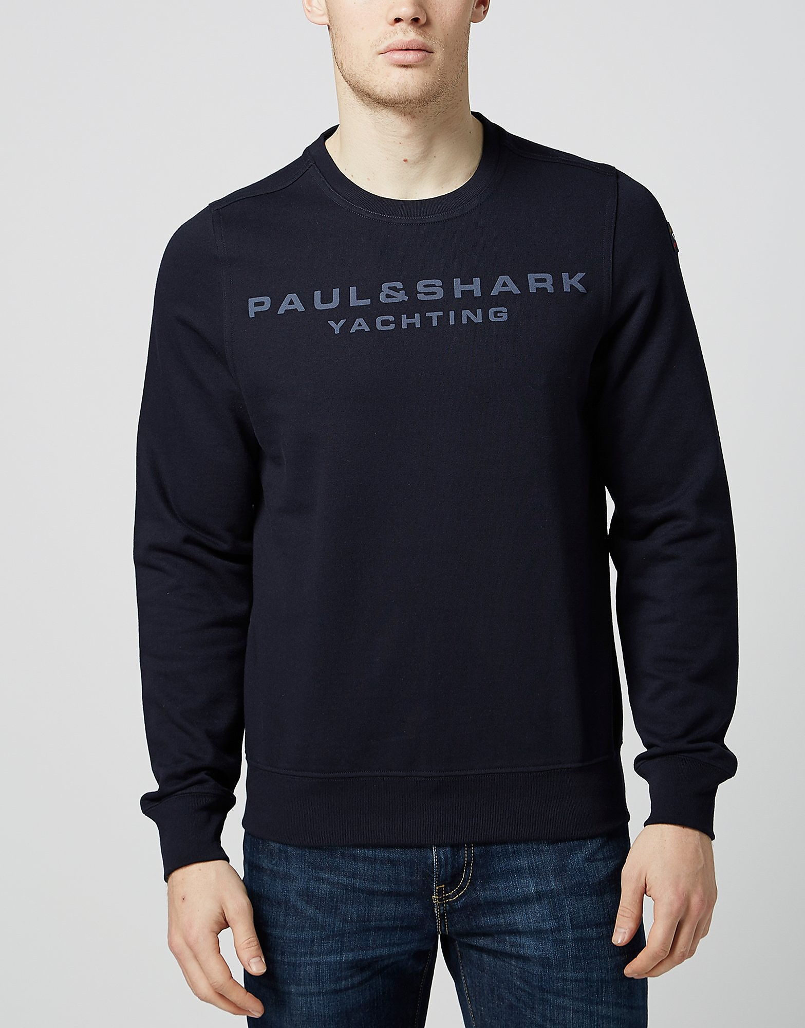 Paul and Shark Yachting Crew Neck Sweat - Exclusive
