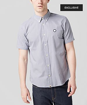 Pretty Green Short Sleeve Gingham Shirt - Exclusive
