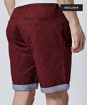 One True Saxon Morrissey Paisley Short - Exclusive