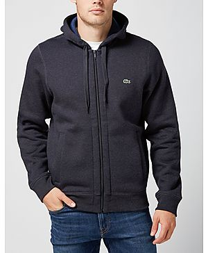 Lacoste Full Zip Fleece Hoody