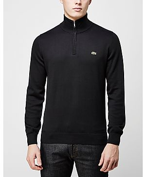 Lacoste Cotton 1/2 Zip Knit