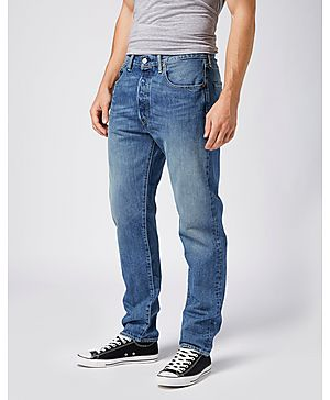 Levis 501 Customised & Tapered Fit Jeans