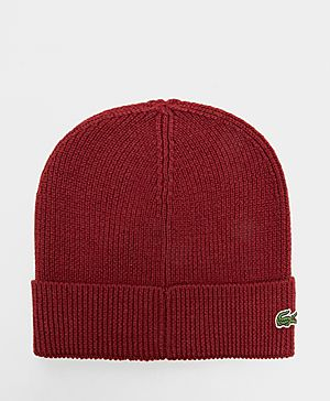 Lacoste Ribbed Turn Hat