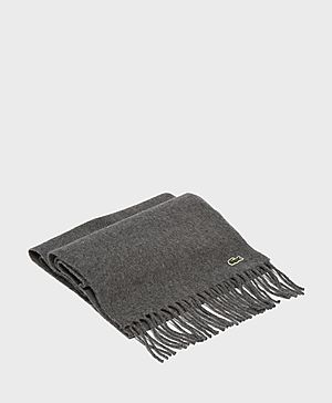 Lacoste Croc Woven Scarf