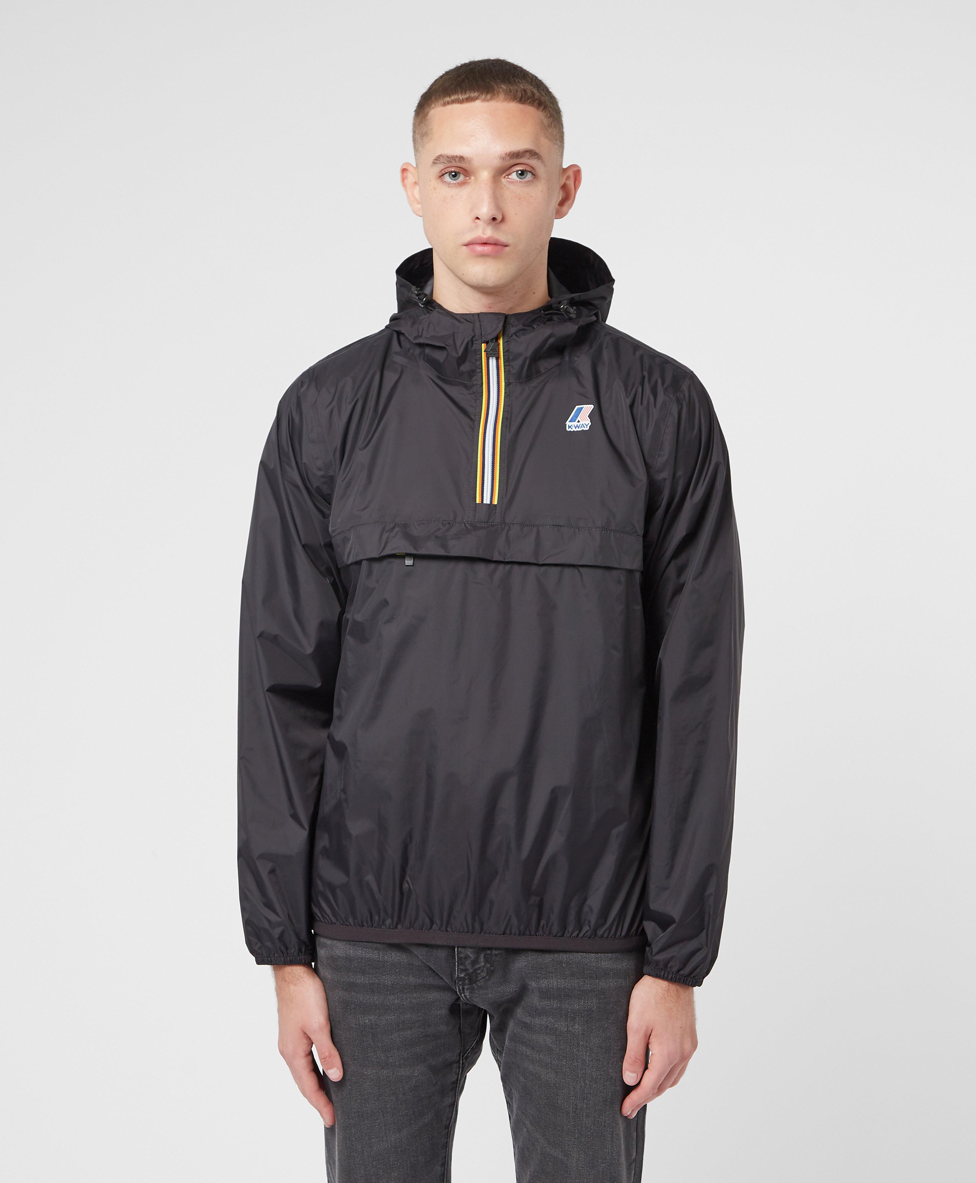 K-Way Le Vrai Leon Half Zip Lightweight Jacket