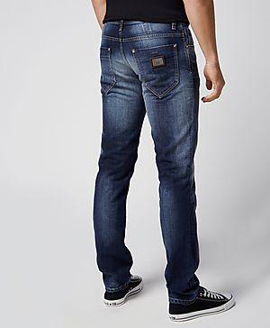 Antony Morato Slim Fit Mid Wash Jeans