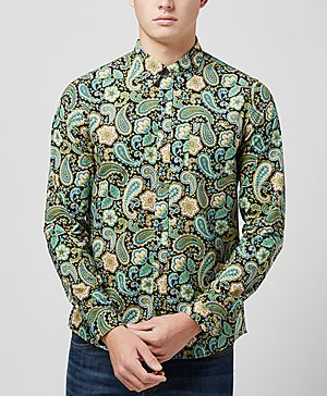 Pretty Green Louis Paisley Shirt