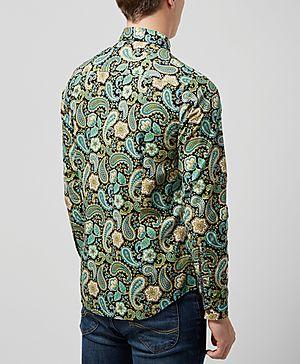 Pretty Green Louis Paisley Shirt