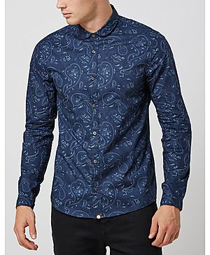 Pretty Green Paisley Print Shirt