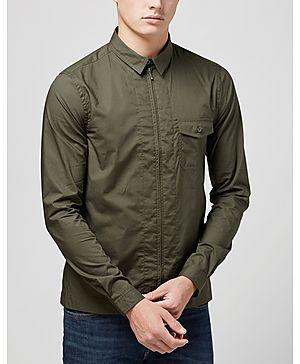 Pretty Green Zip Front Shirt