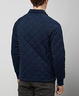 Franklin & Marshall Quilt Fleece Jacket