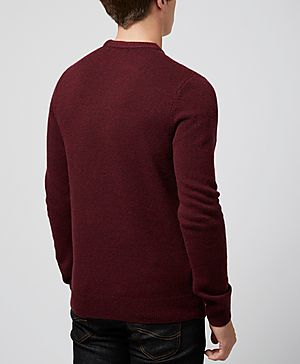 Fred Perry Texture Knit Sweater
