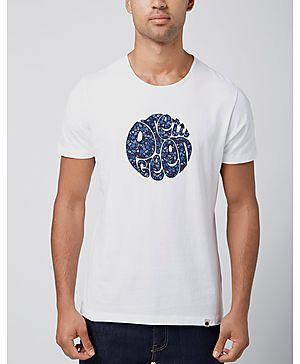 Pretty Green Floral Logo T-Shirt - Exclusive