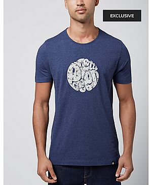Pretty Green Floral Logo T-Shirt - Exclusive