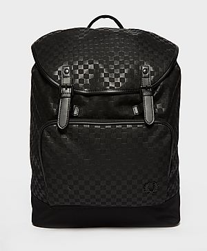 Fred Perry Check Rucksack