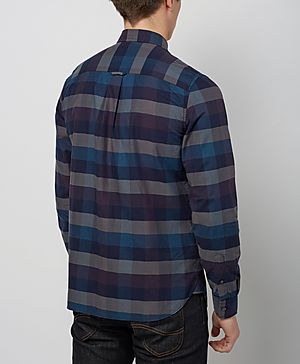 Fred Perry Textured Gingham Shirt