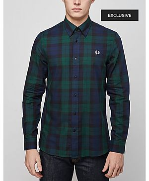 Fred Perry Blackwatch Long Sleeve Shirt - Exclusive