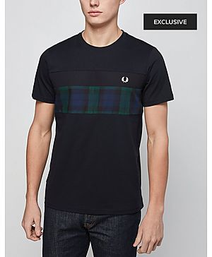 Fred Perry Blackwatch Panel T-Shirt - Exclusive
