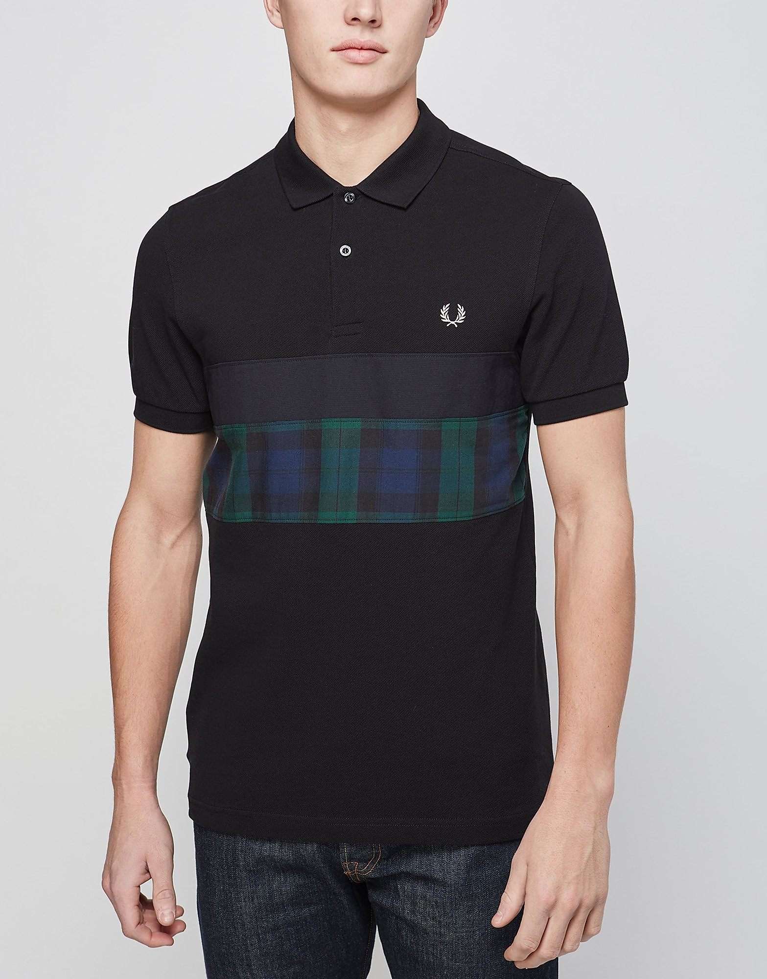 Fred Perry Blackwatch Panel Polo Shirt - Exclusive