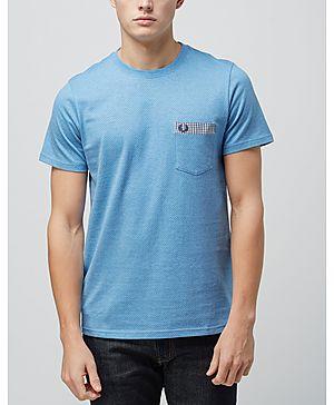 Fred Perry Gingham Trim Polka Dot T-Shirt