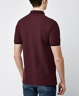 Fred Perry Mixed Panel Polo Shirt