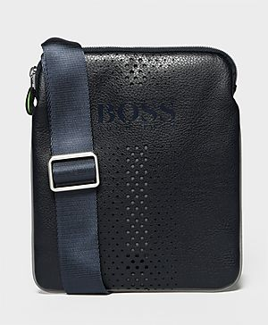Boss Green Faux Leather Small Bag