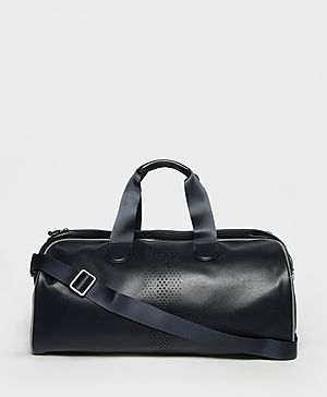 Boss Green Faux Leather Holdall