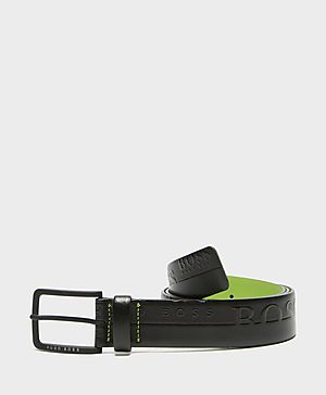 BOSS Green Embossed Belt
