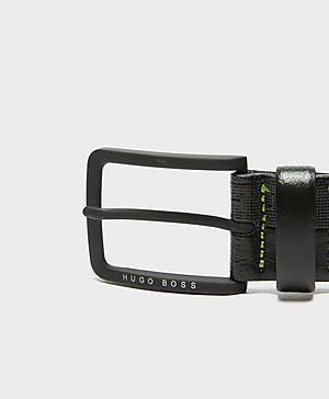 BOSS Green Embossed Belt