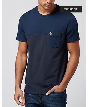 Original Penguin Barts Panel Pocket T-Shirt - Exclusive